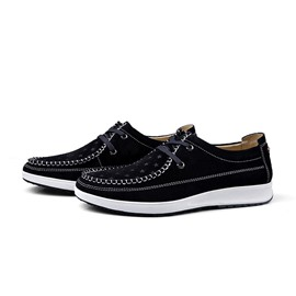 Ericdress Solid Color Lace-Up Men's Sneakers