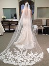 Ericdress Eye-catching Appliques Carhedral Wedding Veil