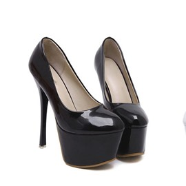 Ericdress Fashion Patent Leather Women's Pumps
