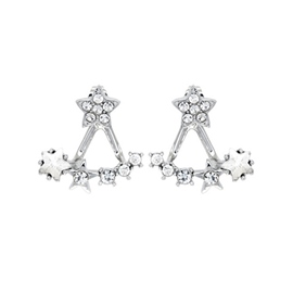 Lovely Star Shaped Earrings