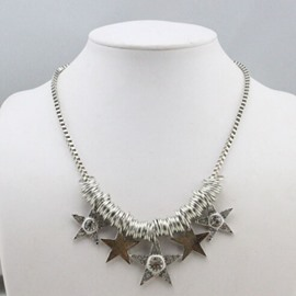 Cute Pentagrams Decorated Necklace