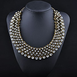 Luxurious U Shaped Female Necklace