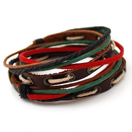 Handmade Multi-layer Men's Bracelet