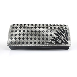 Ericdress Radial Diamante Clutch/Evening Bag