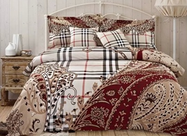 Ericdress Landscape Plaid 4-Piece Bedding Sets