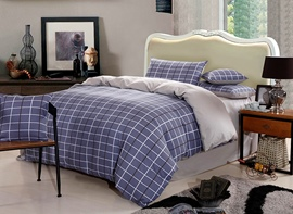 Ericdress Classic Plaid Cotton Bedding Sets