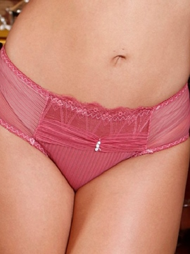 Ericdress Solid Color Low Waist Panty