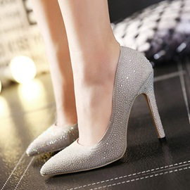 Ericdress OL Rhinestone Pointed-toe Pumps