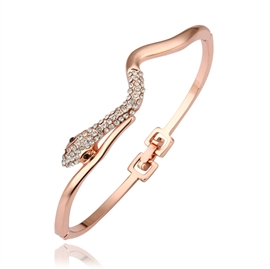 Delicate Snake Shaped Trendy Bracelet
