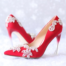 Ericdress Rhinestone Pointed-toe Wedding Shoes