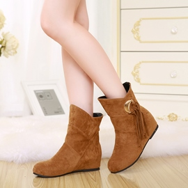 Ericdress Sweet Tassels Decoration Ankle Boots