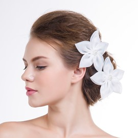 Ericdress Beautiful Flower Shaped Hair Flowers