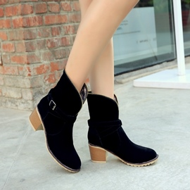 Ericdress Fashion Ankle Boots with Buckles