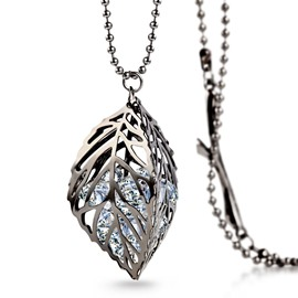 Ericdress Retro Style Leaf Shaped Pendent Necklace