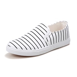 Ericdress Simple Strips Men's Canvas Shoes