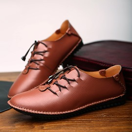 Ericdress Leisure Lace up Men's Loafers