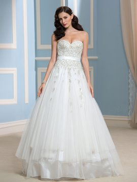 Ericdress Charming Sweetheart A Line Lace Wedding Dress