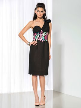 Ericdress Knee-Length Appliques Cocktail Dress