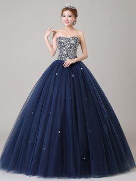 Ericdress Schatz Pailletten Perlen Ball Gown Quinceanera Kleid