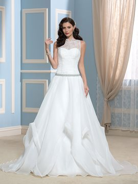 Ericdress Pretty Sleeves A Line Lace Wedding Dress