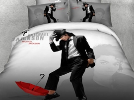 Ericdress Dancing Michael Jackson Print 3D Bedding Sets