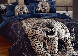 Ericdress Wild Jungle Leopard Print 3D Bedding Sets
