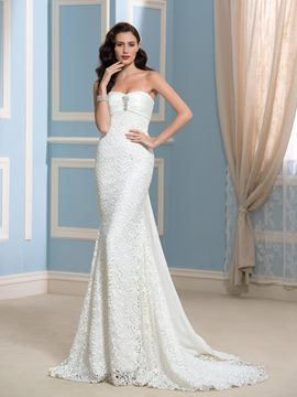Ericdress Charming Beading Sweetheart Lace Wedding Dress