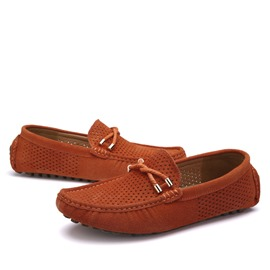 Ericdress Suede Hollow Out Moccasin-Gommino