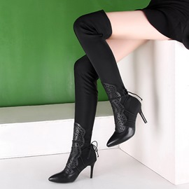 Ericdress Precious Solid Color Knee High Boots