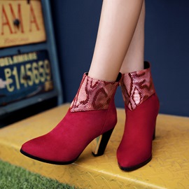 Ericdress Fashion Pointed-toe high-heel Boots