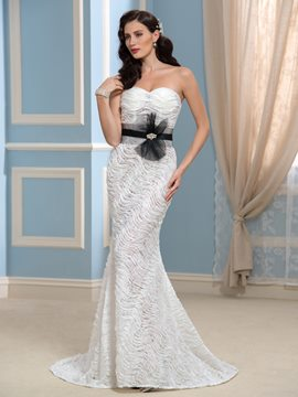 Ericdress Charming Sweetheart Lace Mermaid Wedding Dress