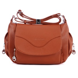 Ericdress Solid Color Shoulder Bag