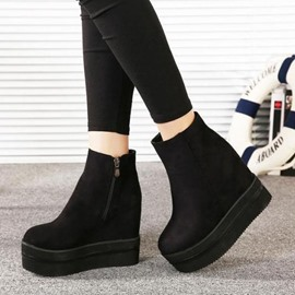 Ericdress Popular Wedge Ankle Boots