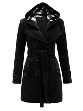 Ericdress Euro-American Style Hooded Coat