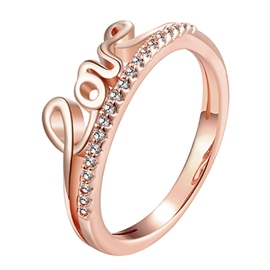 Love Shaped Delicate Alloy Ring