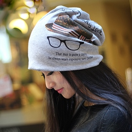 Creative Pattern Printed Casual Hat