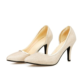 Ericdress Glittering Pointed-toe Pumps