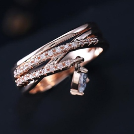 Multilayer Gold Ring
