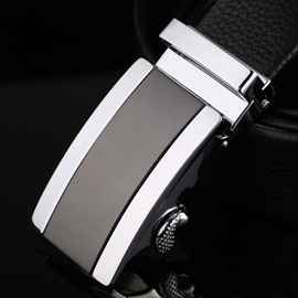 Ericdress Cowhide Leather Automatic Belt For Men