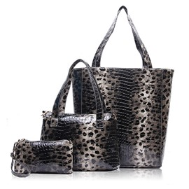 Ericdress Popular Leopard Pattern Tote Bags(3 Bags)