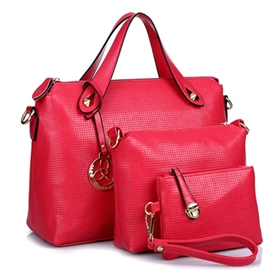Ericdress Commute Solid Color Tote Bags(3 Bags)
