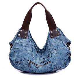 Ericdress Leisure Canvas Tote Bag