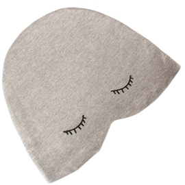 Cute Eyes Decorated Shading Cotton Hat