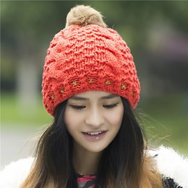 Lovely Knitted Warm Hat for Winter