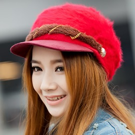 Elegant Female Knitted Hat