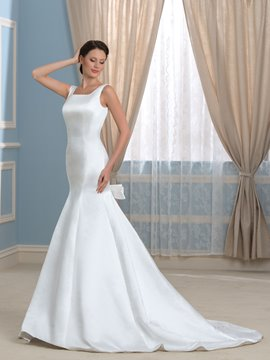 Ericdress Fashionable Straps Backless Wedding Dress