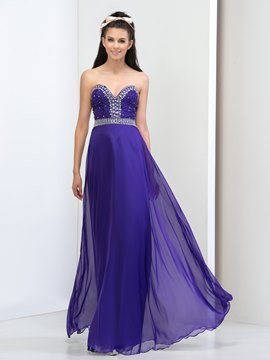 Ericdress A-Line Sweetheart Beading Prom Dress