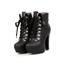 Ericdress European Eleagnt Heel Height Boots