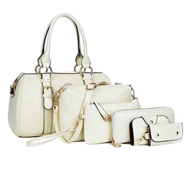 Ericdress Simple All Match Alligator Tote Bags(6 Bags)