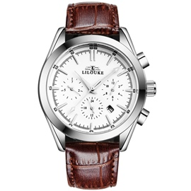 Ericdress Multifunction Men's Steel Watch